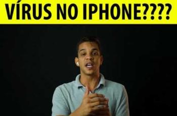 Existe Vírus no iPhone ? iPhone pega Vírus ?