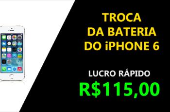 Como trocar a Bateria do iPhone 6?
