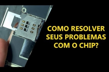 Uma forma de resolver problemas com o Chip no iPhone