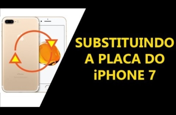 Como substituir a Placa do iPhone 7